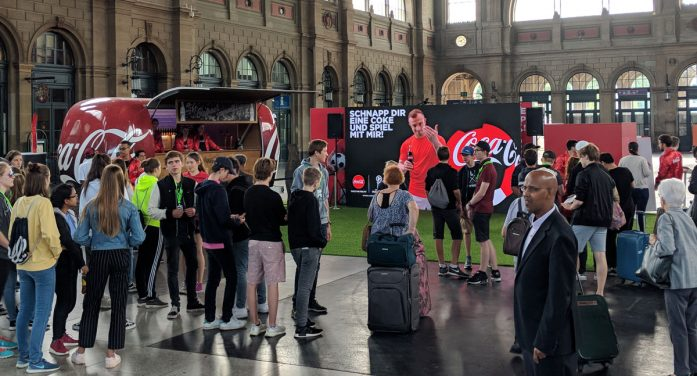 Grand Visual Kicks-Off an Augmented Reality Football Experience for Coca-Cola