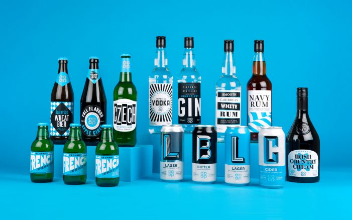 Robot Food Redesign Co-op's Own-Brand Beers, Ciders and Spirits