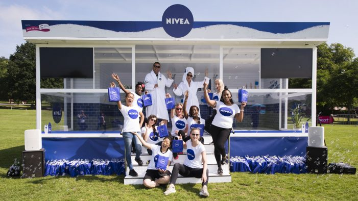 Space and NIVEA bring mass 'Shower Karaoke' to Cancer Research UK's Race for Life