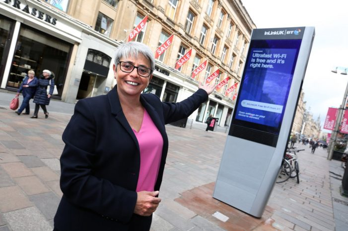 New ad proposition for Scotland as InLink breaks ground in Glasgow