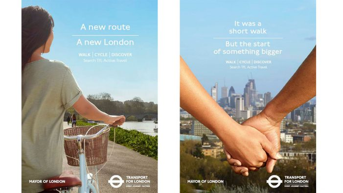 Transport for London Launches Active Travel Campaign by VCCP