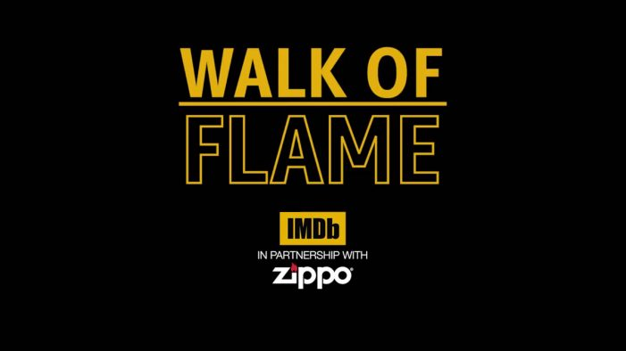 Zippo teams with IMDb to explore its history in film in new 'Walk of Flame' campaign