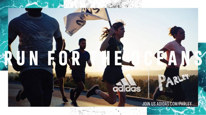 TBWA\NEBOKO and adidas harness the power of running to fight marine plastic pollution