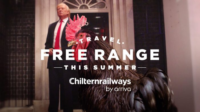 """Chiltern Railways and The Gate launch disruptive """"Travel Free-Range"""" summer campaign"""