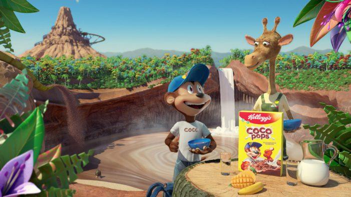 Piranha Bar Re-Imagine Classic Coco Pops Characters in New Kellogg's Campaign