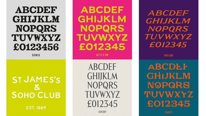 The House of St Barnabas Recovers Soho Fonts in 'Lost and Foundry' Campaign