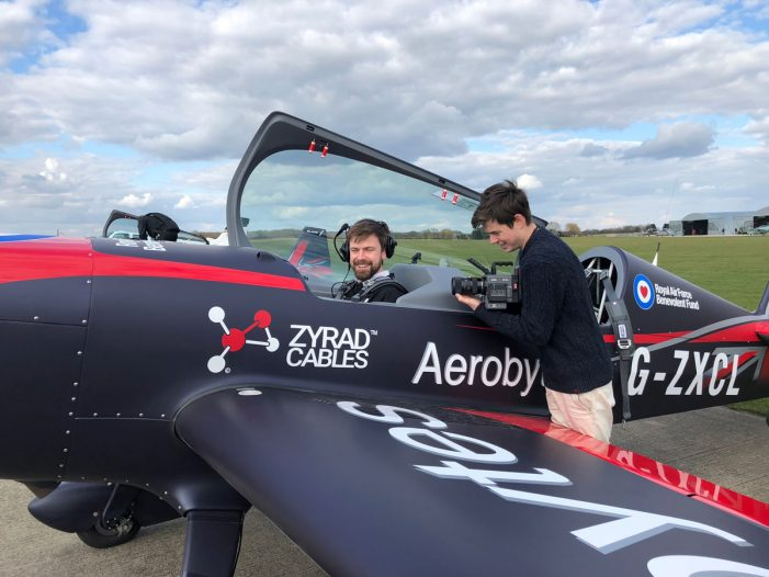 23 Year-Old Entrepreneur Producing Rolls-Royce's Digital Video Campaign with the Royal Air Force