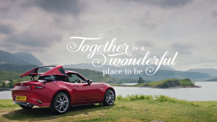 Antidote creates 'together is a wonderful place to be' Mazda idents for Film4 sponsorship