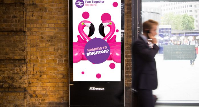 National Rail launches its first dynamic DOOH Railcard campaign