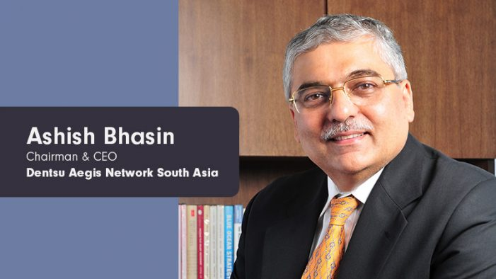 Dentsu Aegis Network India's Ashish Bhasin elected President of AAAI