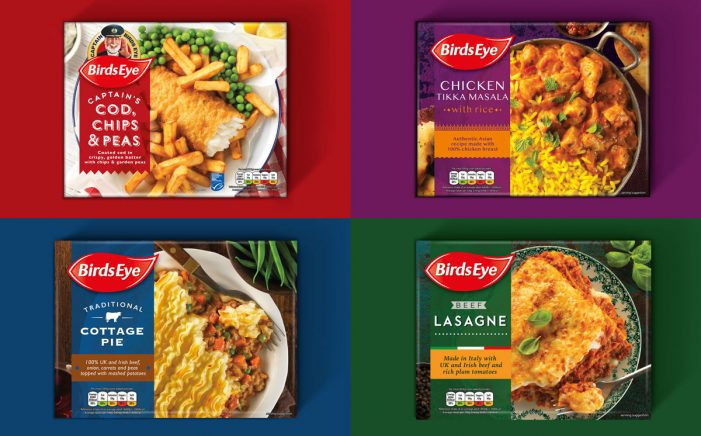 Brandon Redesigns Birds Eye Frozen Ready Meals, Dialling Up Authenticity and Quality