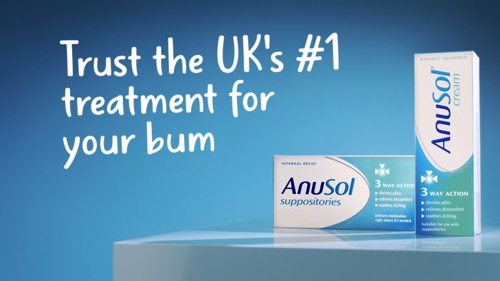MSQ Partners' The Gate London launches Anusol's first ever TV ad