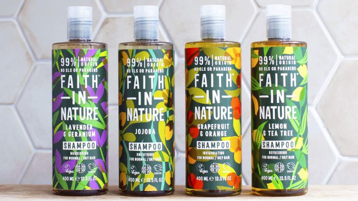 The Space Creative rebrands Faith in Nature, bringing new consumers to natural skincare