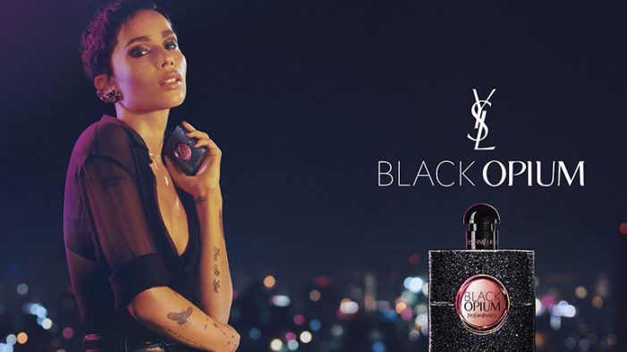 Yves Saint Laurent's Black Opium has a new muse in campaign by BETC Luxe and General Pop
