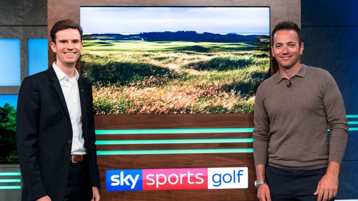 Tourism Ireland promotes world class golf across Ireland with Sky Media