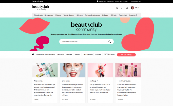 Debenhams drives 'digital first' strategy for beauty