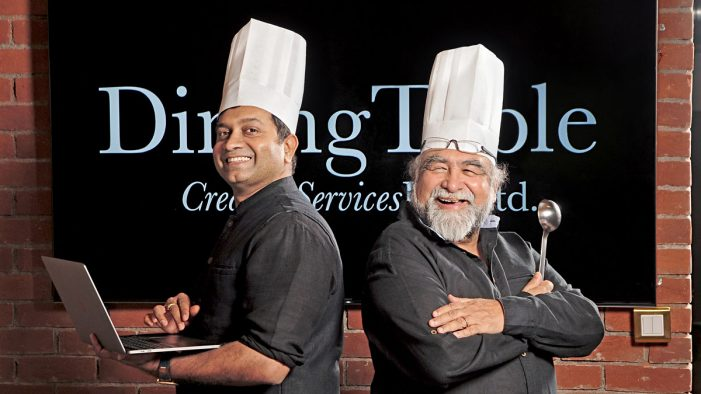 Creativeland Asia's Raj Kurup & Prahlad Kakkar launch Dining Table for SME's & FOB's