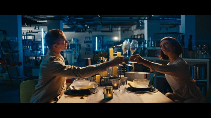 Two mannequins have the night of their lives in TBWA/NEBOKO's new Hudson's Bay ad