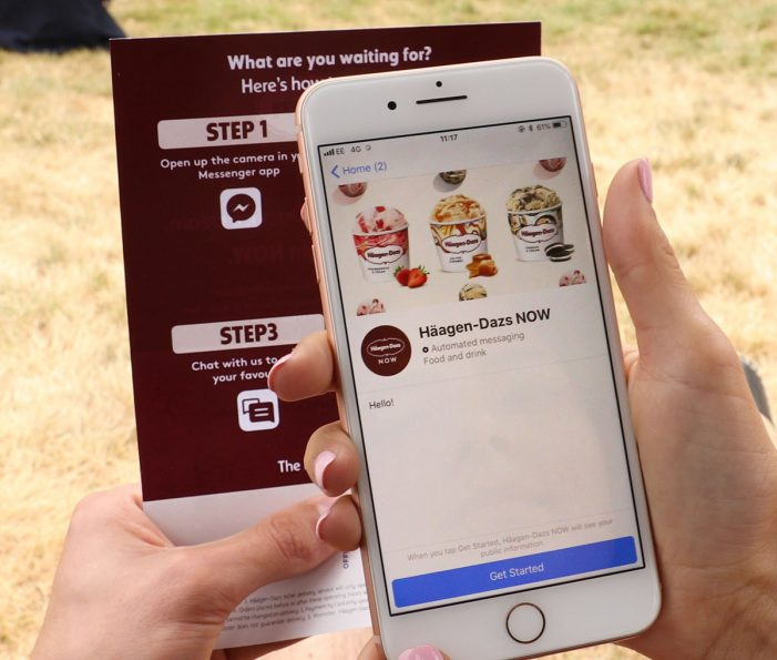 Häagen-Dazs Trials Geo-Targeted Delivery-On-Demand Mobile eCommerce Service in Central London