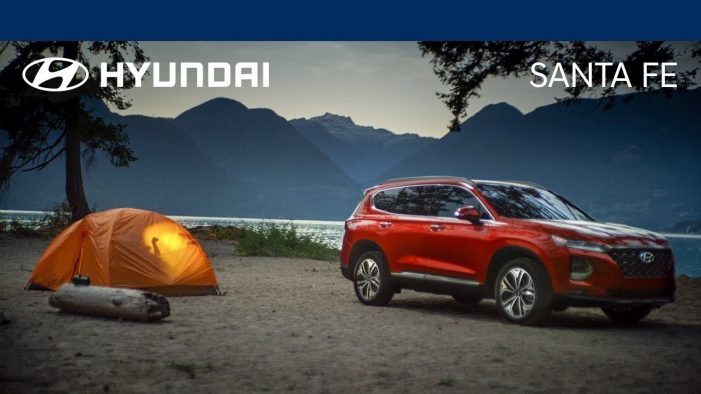 The 2019 Santa Fe is fuelling quality time in Hyundai's new ad campaign