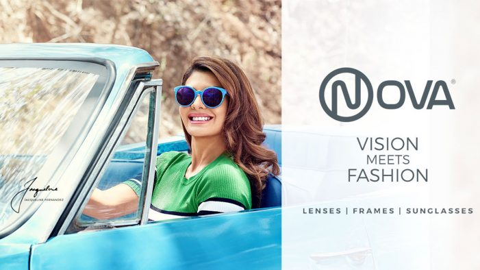 Jacqueline Fernandes stars in Rediffusion's new campaign for Nova Eyewear