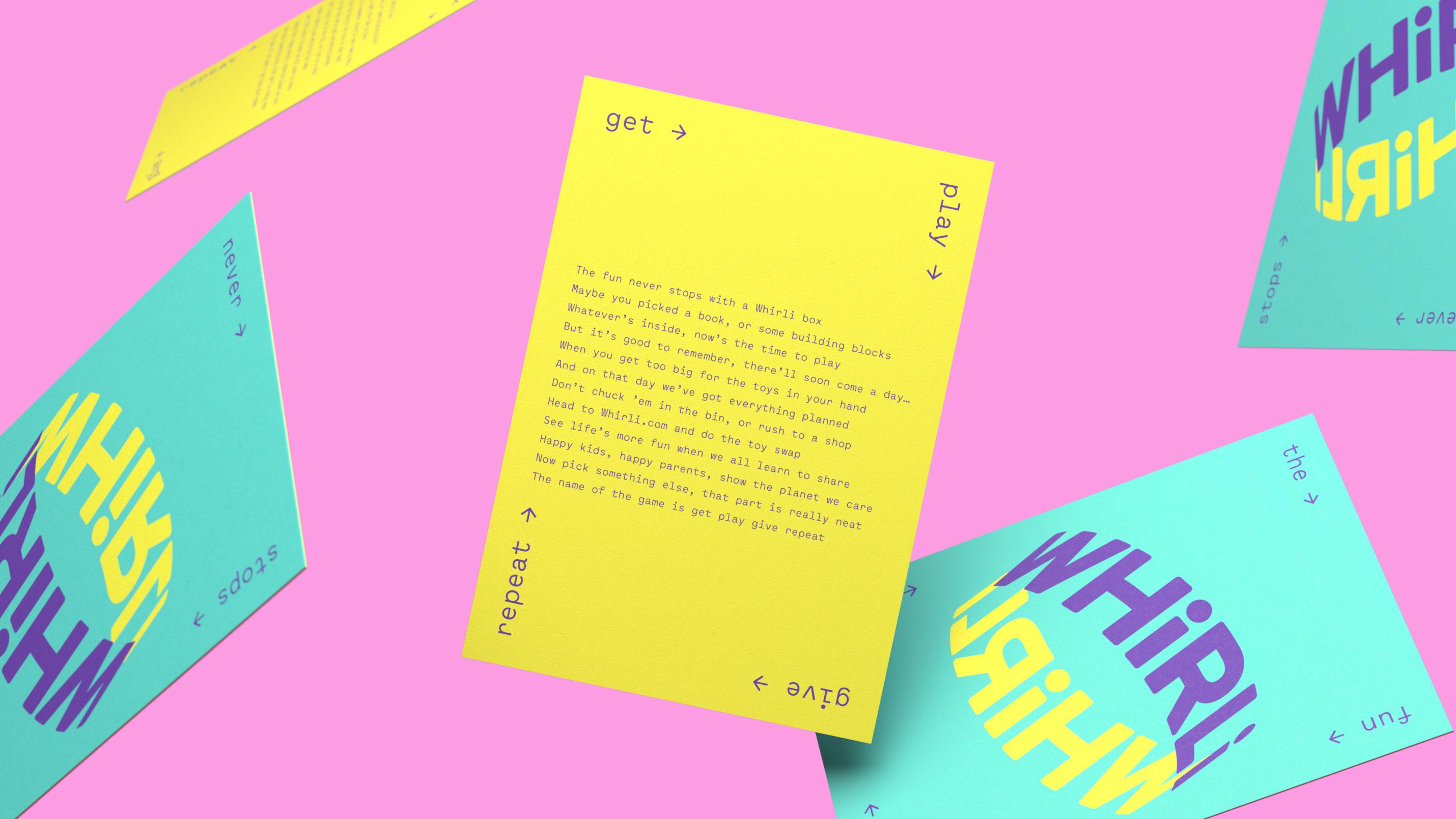 Ragged Edge – Whirli postcard