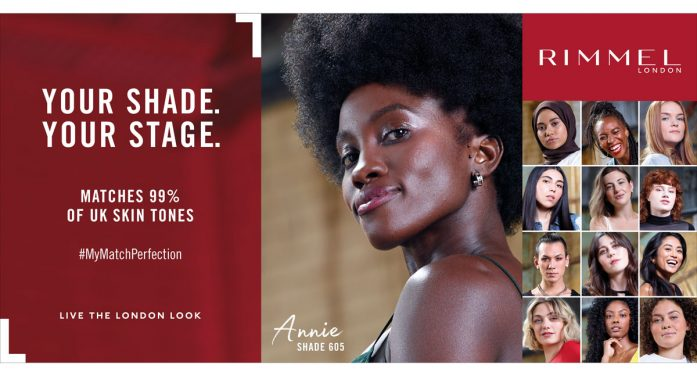 Initials launches integrated campaign for Rimmel London's Match Perfection foundation