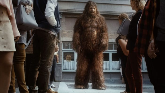 "BigFoot creates quite a stir for Virgin Media's new ""Nothing Hidden"" campaign"