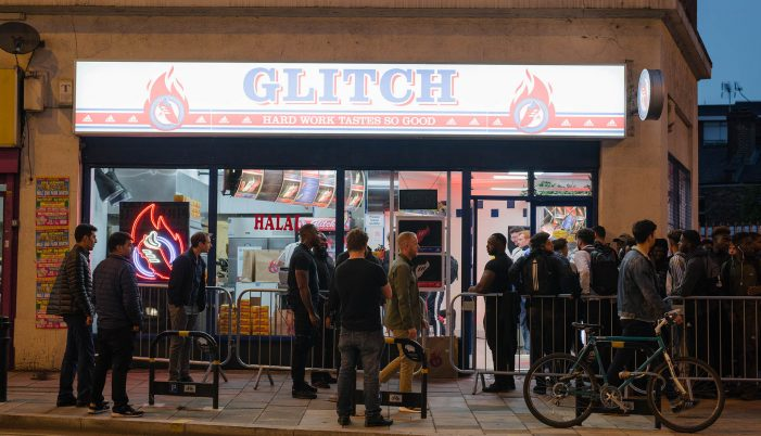 Iris launches adidas GLITCH takeaway takeover in London