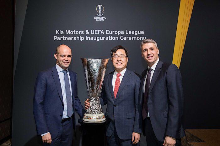 Kia Motors kicks off UEFA Europa League as official partner for 2018-21