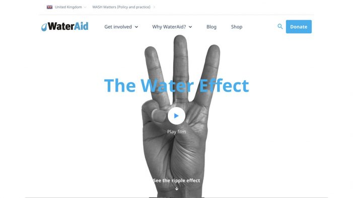 WaterAid appoints Manchester agency as global web development partner