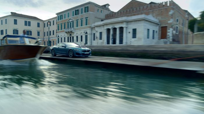 BMW Drives THE 8 on Venice Canals in Global Campaign from Serviceplan
