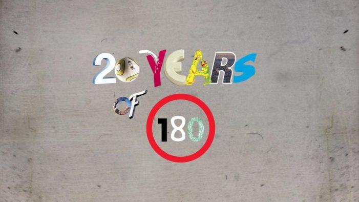 Dutch creative agency 180 Kingsday celebrates their 20th Anniversary