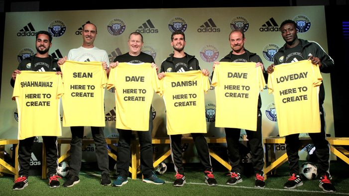 adidas India and Real Kashmir Football Club announce official partnership