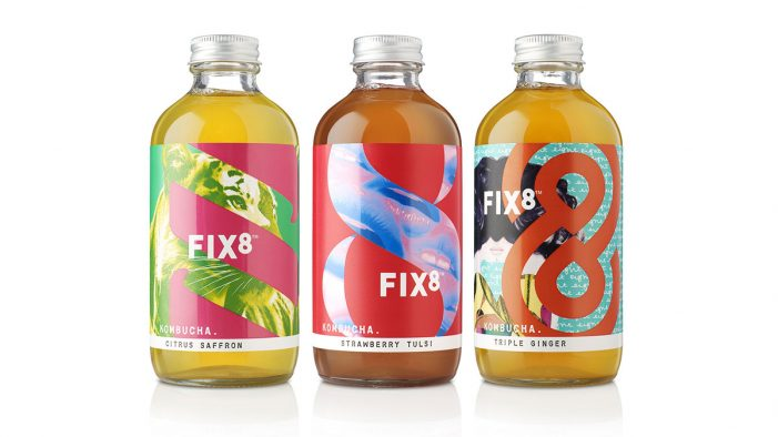 B&B Studio Celebrates the Power of Positive Addiction in New Brand Creation for FIX8 Kombucha