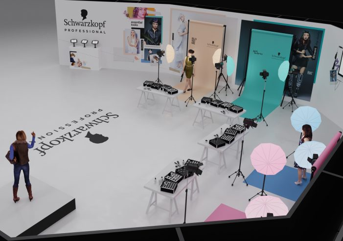 Schwarzkopf Professional creates immersive future hair experience at Salon International