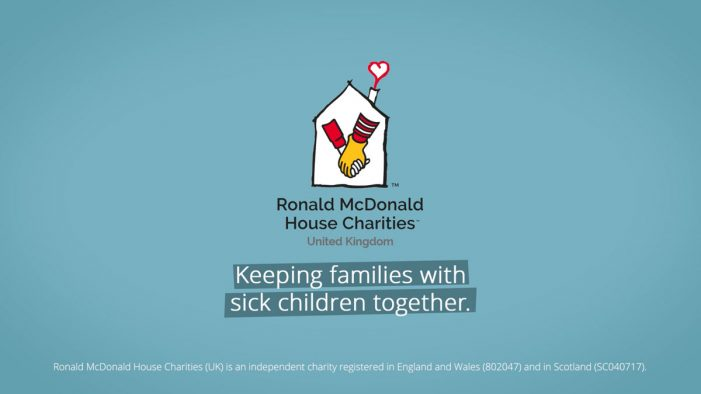 eight&four creates powerful new campaign for Ronald McDonald House Charities