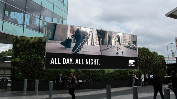 SOREL launches weather reactive DOOH campaign