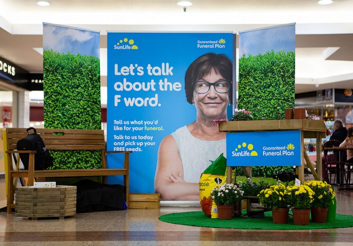 New SunLife funeral campaign lifts the lid on the final taboo: 'the F word'