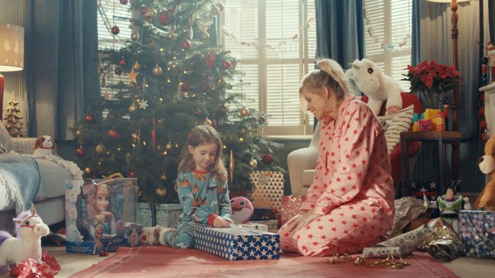 bigdog launches The Entertainer's Little Festive Moments for ITV