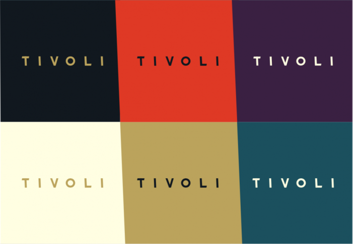 Run For The Hills creates visual identity for new boutique cinema brand, TIVOLI