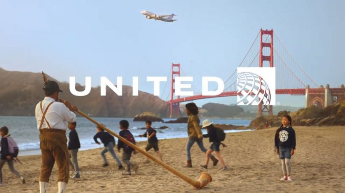 United Airlines connects the world with music in ambitious new spot