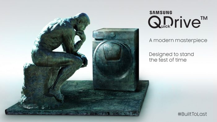 Samsung gives iconic sculptures a contemporary makeover in new OOH campaign