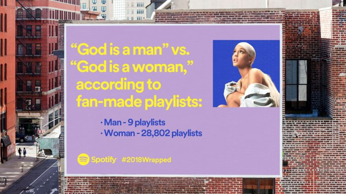 Spotify unwraps weird listening habits for global end of year ad campaign
