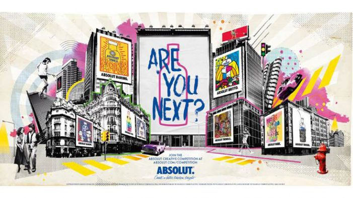 Absolut Begin Global Search for Next Artistic Collaborator