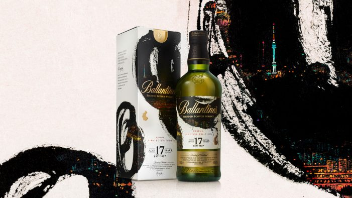 Bluemarlin Creates the Seoul Edition with Ballantine's