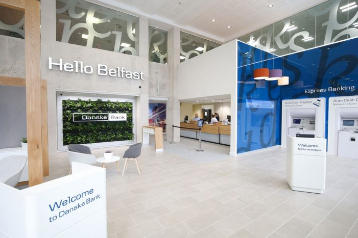 Danske Bank launch event for Central Belfast Flagship Experience designed by I-AM