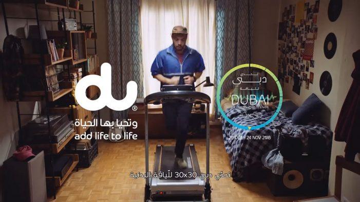 TBWA\RAAD helps du spread awareness on the Dubai Fitness Challenge 2018