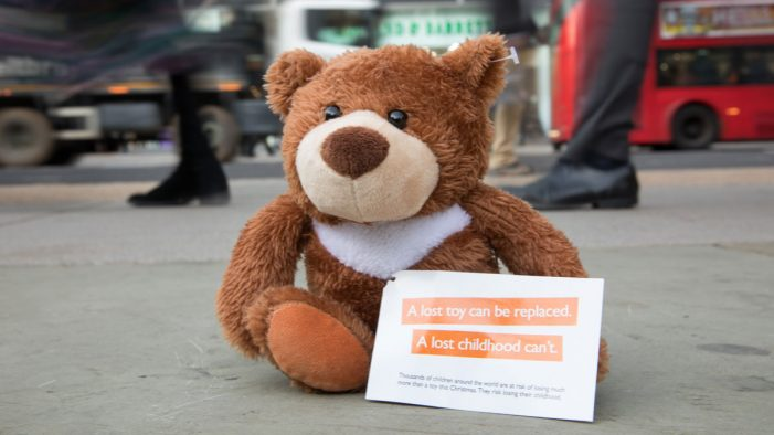 "2,000 ""lost teddy bears"" to appear on UK high streets to launch World Vision UK's latest campaign"