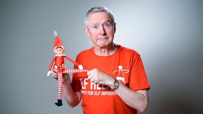 Louis Walsh stars in new Christmas ad for Elves Behavin' Badly toy range